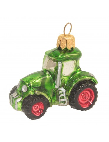 Lille grøn traktor
