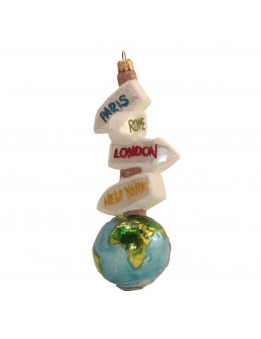 Globus m/byskilte