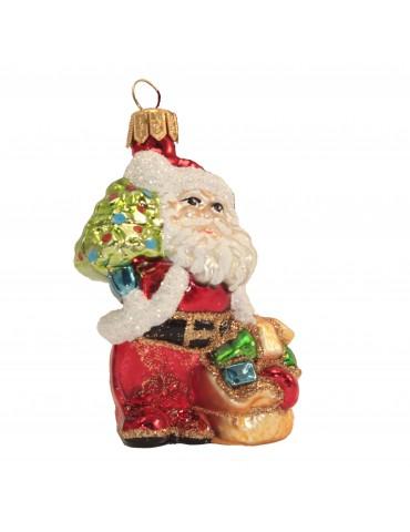 Julemand m/sæk & juletræ