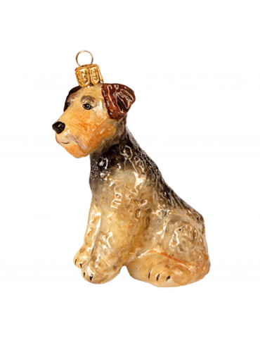 Airedale terrier, stor -...