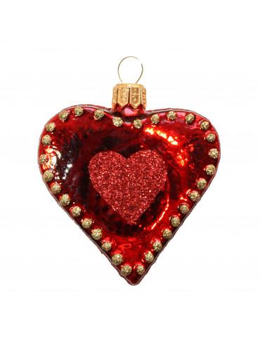 """Hjerte med """"God jul"""""""