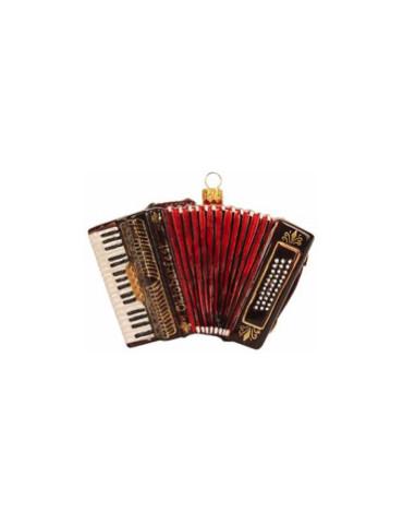 Harmonika, brun - Udsolgt!