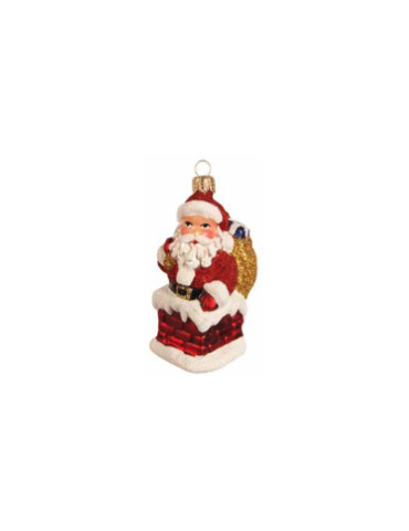 Julemand i skorsten
