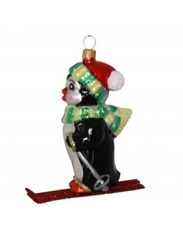 Pingvin på ski