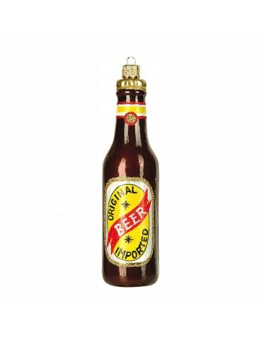 Ølflaske, brun