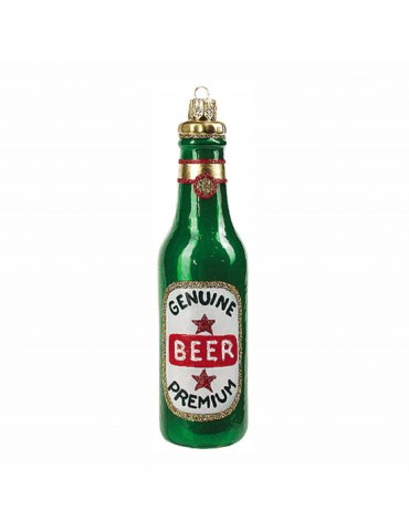 Ølflaske, grøn