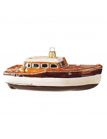 Klassisk mahogni båd