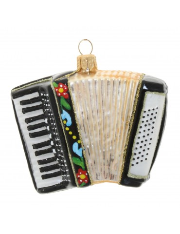 Harmonika m/blomster