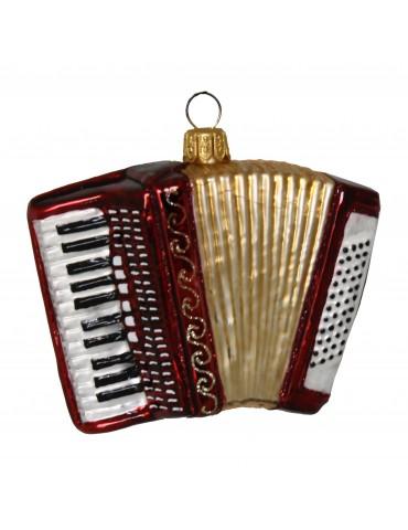 Harmonika, rød