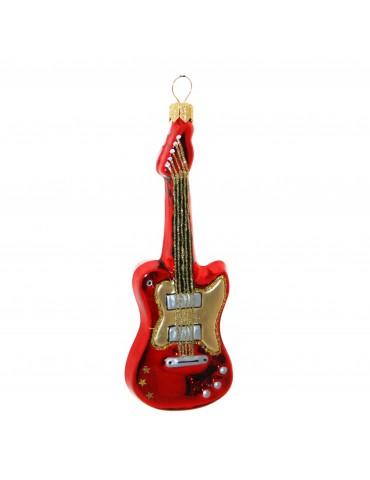 Elektrisk guitar m/guld