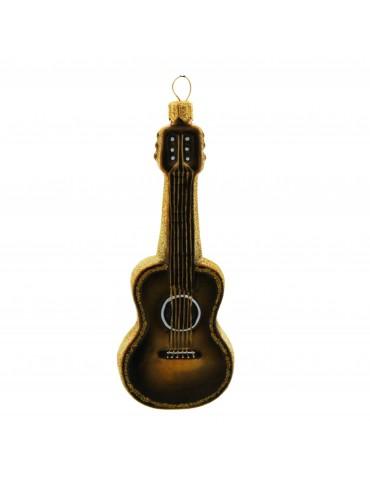 Akustisk guitar, mørkebrun